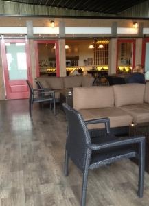 Lieb inside the Oregon Road tasting room
