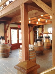 Inside the tasting room.