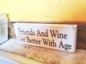 This may not be true for roses, but it is for friends.