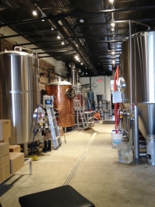 The brewing equipment
