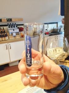 The vodka glass