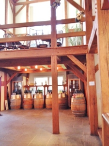 One view of the tasting room