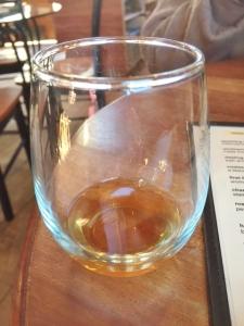 The brandy