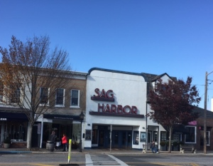 In Sag Harbor you can also see a film at the cinema, which shows off-beat or art house type films.