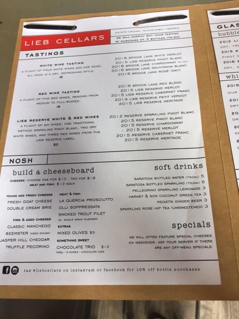 l menu