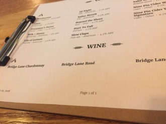 They also have boxes of Bridge Lane wines.